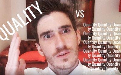 Quality vs Quantity... Or something else?