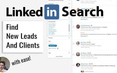 How to locate your target market on LinkedIn (simple guide)